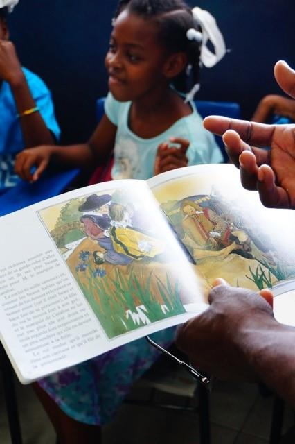Surprise Book Shipment to Haiti