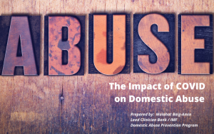 The Impact of COVID on Domestic Abuse