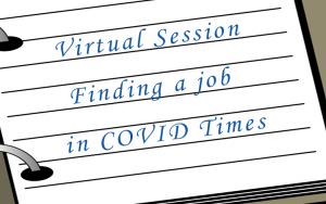Finding a job in COVID Times