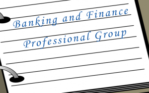 Banking and Finance Professional Group