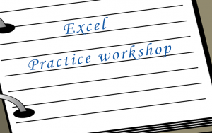 Excel - Practice workshop