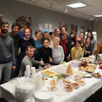 English Class Potluck Fall 2019