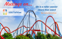 Musings on…. life is a roller coaster (more than ever)!