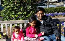 Ashik and his children