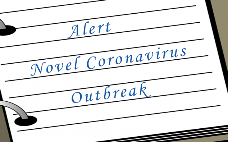 Alert Novel Coronavirus Outbreak