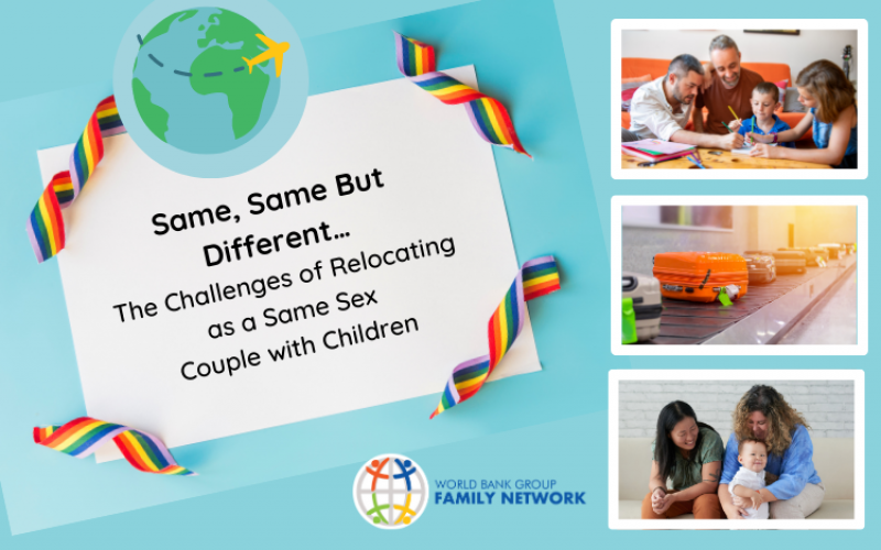 Same, Same But Different…The Challenges of Relocating as a Same Sex Couple with Children