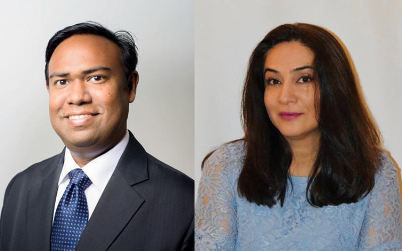 Ashik and Sara WBGFN Presidents