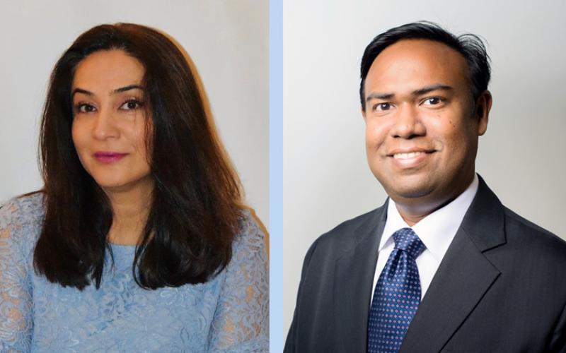 Sara and Ashik- WBGFN Presidents