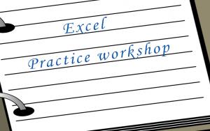 Excel - Practice workshop