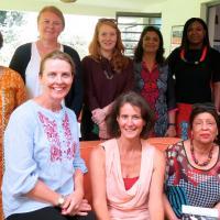WBFN Kenya. Gathering. Coordinated by WBFN Champion Maureen Pearce. Oct 2017.