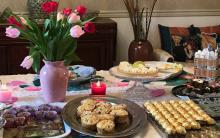 Get together food buffet